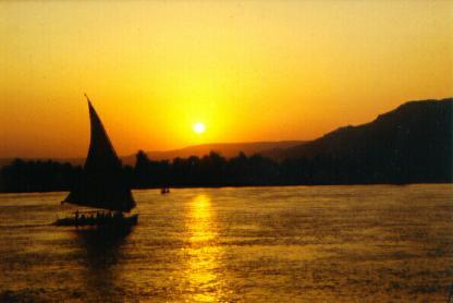 Travesía   Edfú-Luxor  (Rep. de Egipto)